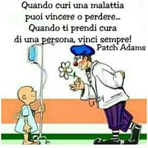 Studio Dentistico Dott. Paolo Papa a Napoli: citazione Patch Adams